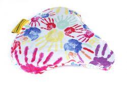 NietVerkeerd zadeldek, waterproof hands, roze