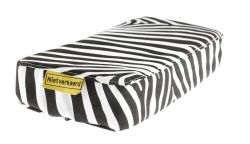 NotBad seat cushion Zitje, Animal stripes, white