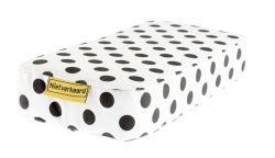 NotBad seat cushion Zitje, Dots, white
