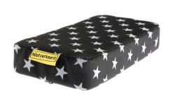 NotBad seat cushion Zitje, Stars, grey