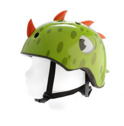 PexKids children's helmet Race, dino, green