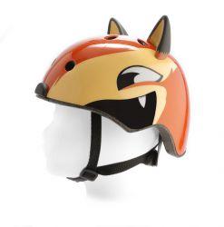 PexKids children's helmet Race, fox, yellow