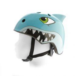 PexKids kinderhelm race, 54~58cm haai, blauw