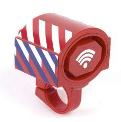 PexKids kindertoeter Taaa-TUUT, brandweer-sirene met blauw licht, rood