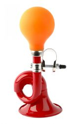 PexKids kindertoeter Taah Toet Toetrrr, post red/orange bulb, rood