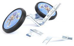 """PexKids side wheels plastic, Djeno 12~20"""", blue"""