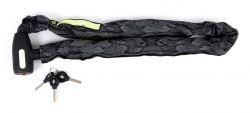 Pythonslot kettingslot 10x1100mm, zwart|grijs