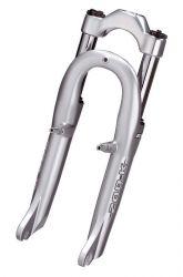"RST suspension fork Capa 200K, tubeless 20"", silver"