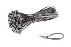 SapiSelco kabelbinder (p/100) 140x3.5mm ø36mm, zwart