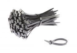 SapiSelco kabelbinder (p/100) 180x7.5mm ø50mm, zwart