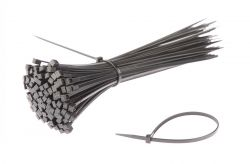 SapiSelco kabelbinder (p/100) 200x3.5mm ø55mm, zwart