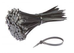 SapiSelco kabelbinder (p/100), hersluitbaar 280x3.5mm, zwart
