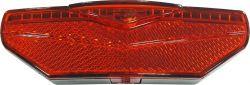 Sate-Lite achterlicht op drager M2E, Cree CIM2B-REW 2 parkers M4, rood