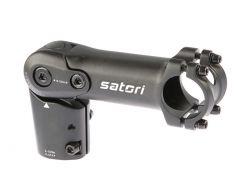 Satori stuurpen Ahead UP2+, 110mm, verstelbaar ø31.8mm, zwart-mat