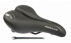 Selle Bassano saddle Sport, Modular 270x180~260mm., black