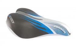 "SelleBassano zadel junior 20~24"", Fanatic 225x155mm., blauw"