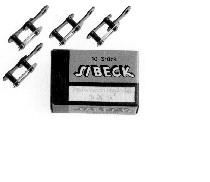 "Sibeck verbindingsschakel 1/2x1/8"", zwart"