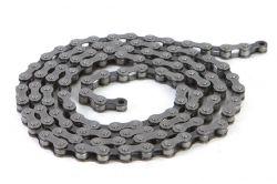 "Tec chain C410, 1-speed 1/2""x1/8"", black silver"