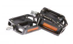 TecoraE pedaal Y-model, BMX/DH 13,0x11,5x3,0cm, zwart
