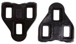TecoraE schoenplaten Look, met bevestigingen vast, zwart