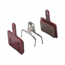 Tektro brake pad P20.11, metal ceramic hydraulic / mechanical, red