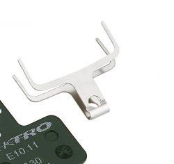 Tektro veer AQ1.0, padhouder E10.11, zilver