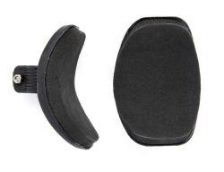 TranzX armsteunen voor JD-802, ø25.4~31.8mm, zwart