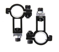 TranzX bevestigingset JD-801, JD-802, L+R ø25.4~31.8mm, zwart