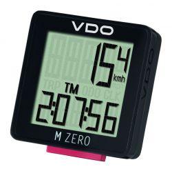 VDO computer M-Zero, bedraad, analoog, 5 functies, zwart