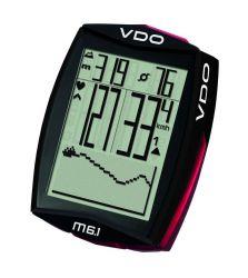 VDO computer M6.1 WL, digitaal, draadloos, 13 functies, zwart