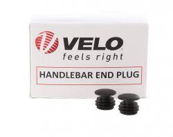Velo end plug VLG-031, handle/barends, black