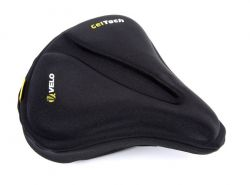Velo saddle cover GelTech with O-zone, Plush VLC-034 WOMEN, black