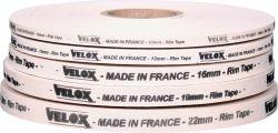 Velox adhesive rim tape, 10mmx2m, white