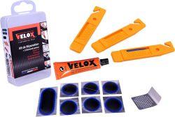 Velox bandreparatieset Maxi, 12-delig, rood