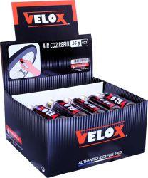 Velox CO2 patroon, met draad 16gr|15 stuks, goud