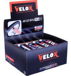 Velox CO2 patroon, met draad 25gr|10 stuks, goud