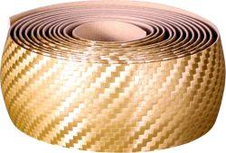 Velox handlebar tape Teckno, carbon-look, gold