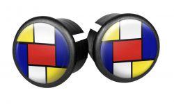Velox stuurdoppen 3D Dome, Mondriaan, sortie