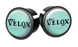Velox stuurdoppen 3D Dome, Velox Bianchi, groen