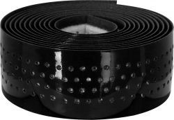 Velox stuurlint Guidoline, Soft Micro Perforeé ø0.25x3.0x190cm, zwart-hoogglans