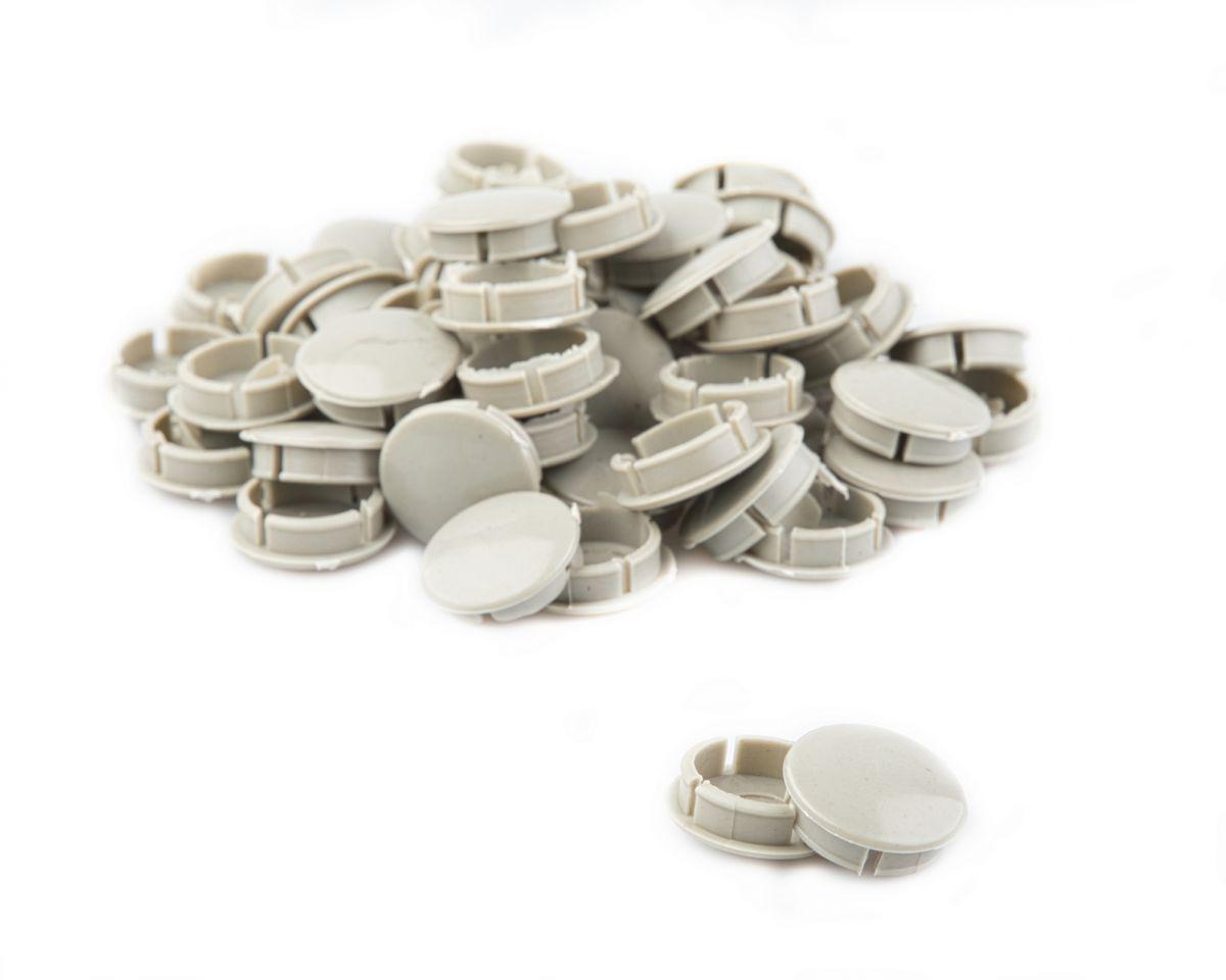 vinty afdekdop voor spieloos crankstel pushin 25mm grijs