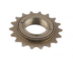Vinty freewheel Full-Ball, single 22-tands, goud