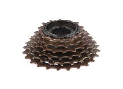 Vinty_vh_Bhogal freewheel Index, multi-speed 14~24 tands, zwart