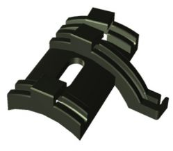 Westphal cable guide no.842-03, black