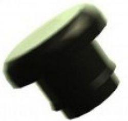 Westphal kabelnippel, z/gat M5, zwart